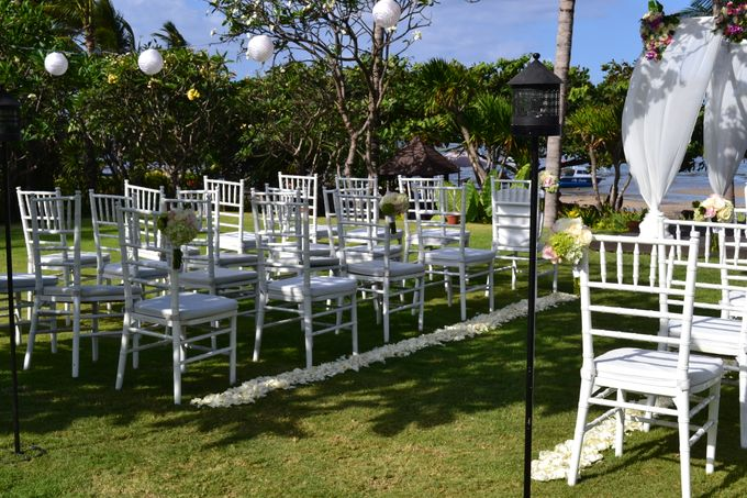WEDDING OF ALEX & NAOMI by Fairmont Sanur Beach Bali - 003