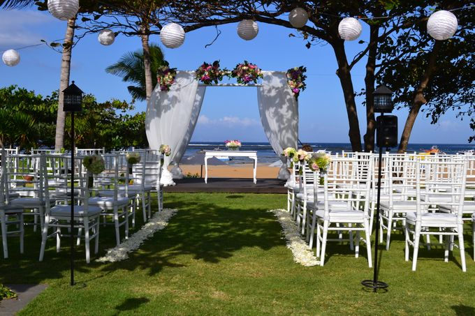 WEDDING OF ALEX & NAOMI by Fairmont Sanur Beach Bali - 004