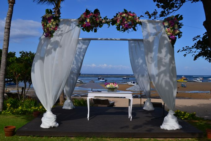 WEDDING OF ALEX & NAOMI by Fairmont Sanur Beach Bali - 005