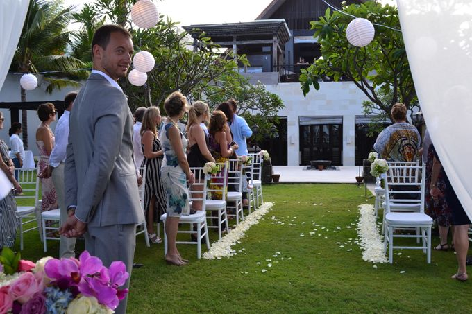 WEDDING OF ALEX & NAOMI by Fairmont Sanur Beach Bali - 009