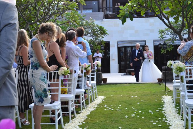 WEDDING OF ALEX & NAOMI by Fairmont Sanur Beach Bali - 010