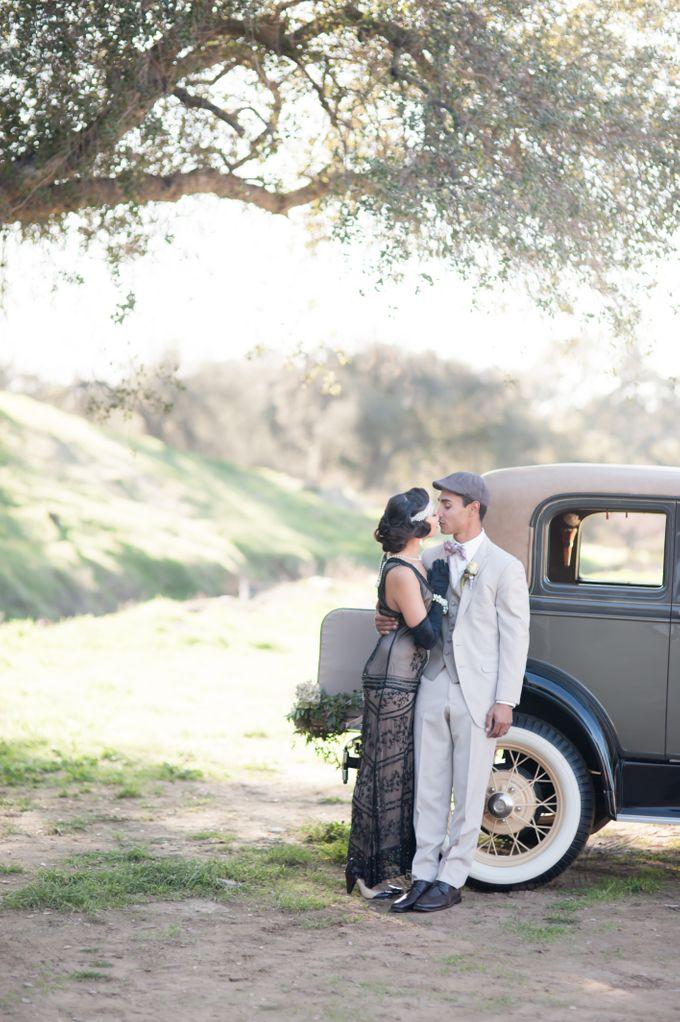 Great Gatsby Wedding Inspiration by Mark Martinez Photography - 027