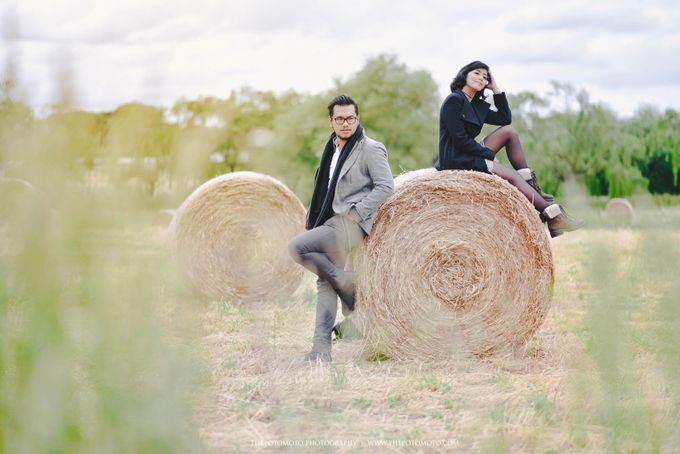 Neshia & Agra Melbourne Prewedding Day II by Thepotomoto Photography - 045