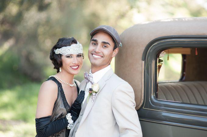Great Gatsby Wedding Inspiration by Mark Martinez Photography - 020