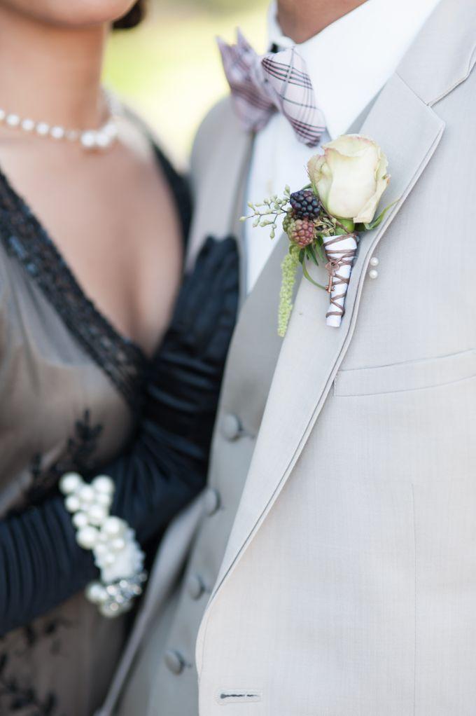 Great Gatsby Wedding Inspiration by Mark Martinez Photography - 028