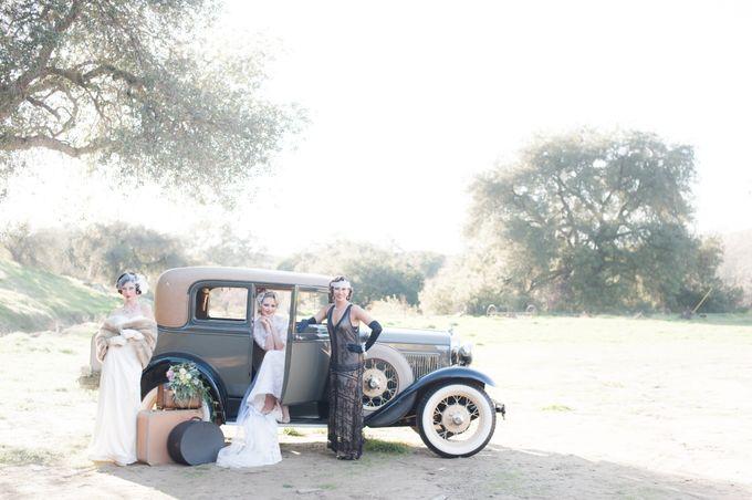 Great Gatsby Wedding Inspiration by Mark Martinez Photography - 010