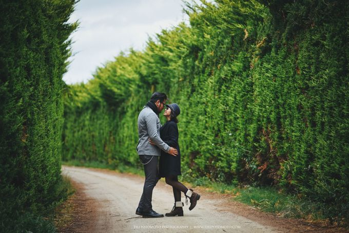 Neshia & Agra Melbourne Prewedding Day II by Thepotomoto Photography - 044