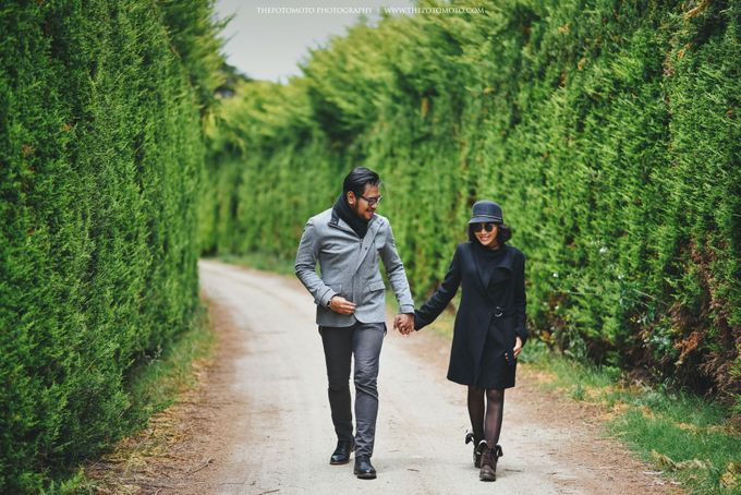 Neshia & Agra Melbourne Prewedding Day II by Thepotomoto Photography - 043