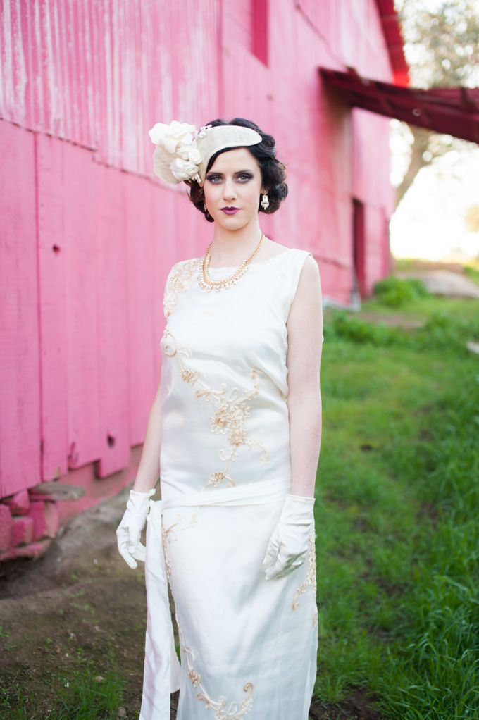 Great Gatsby Wedding Inspiration by Mark Martinez Photography - 013