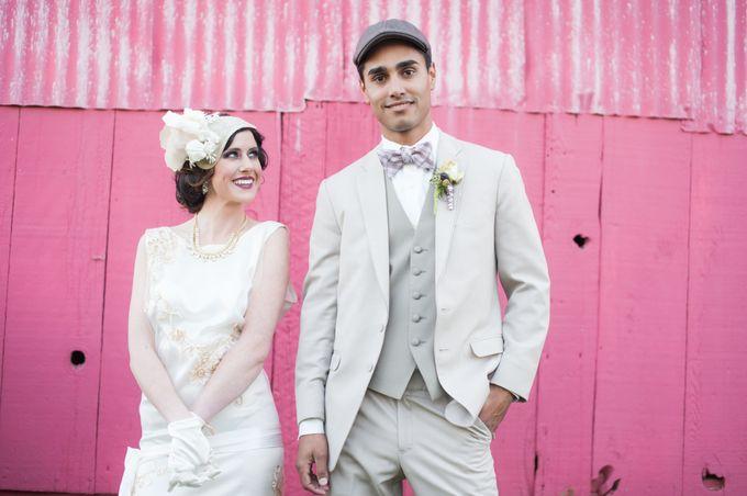 Great Gatsby Wedding Inspiration by Mark Martinez Photography - 011