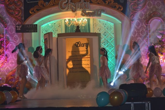 Sweet 17th Birthday Party of Chyntia Angel by Fairy Tale Exclusive Dance - 004