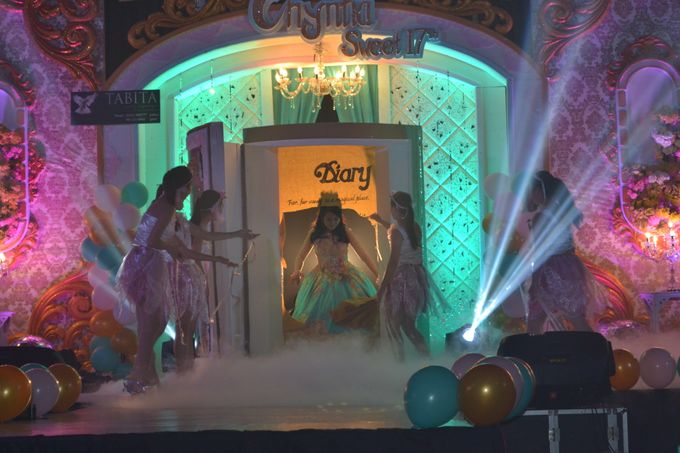 Sweet 17th Birthday Party of Chyntia Angel by Fairy Tale Exclusive Dance - 005