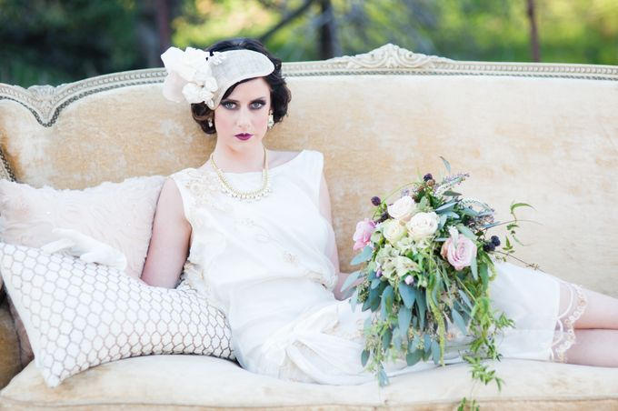 Great Gatsby Wedding Inspiration by Mark Martinez Photography - 016