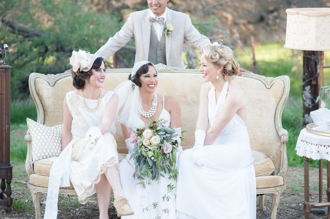 Great Gatsby Wedding Inspiration by Mark Martinez Photography - 017