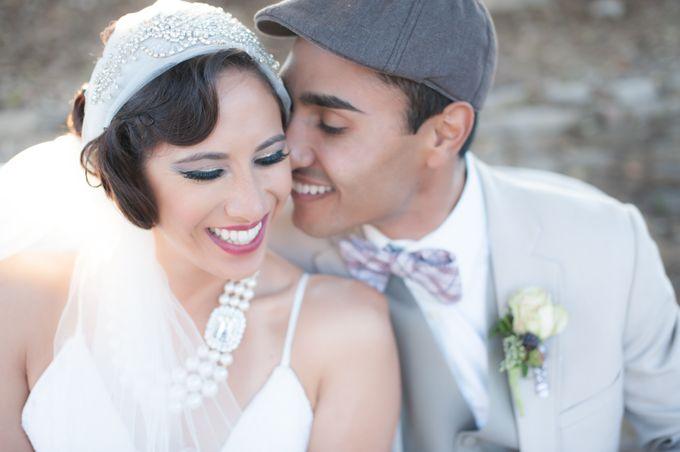 Great Gatsby Wedding Inspiration by Mark Martinez Photography - 003