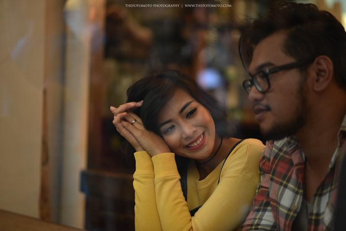 Neshia & Agra Melbourne Prewedding Day II by Thepotomoto Photography - 034