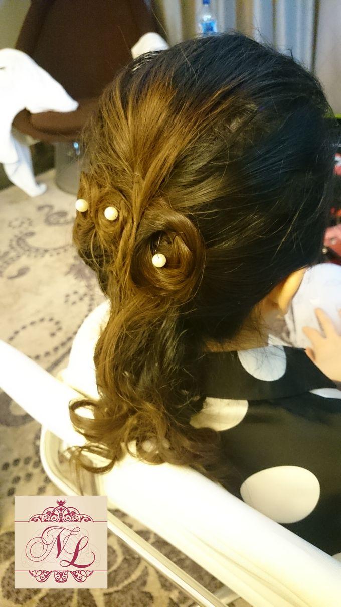 Hair do for Bridesmaid at Kempinski Hotel - Jakarta by Hotel Indonesia Kempinski Jakarta - 001