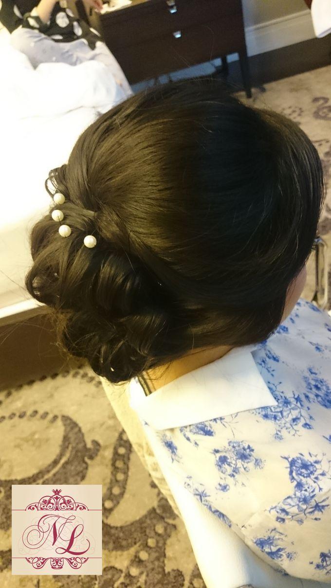 Hair do for Bridesmaid at Kempinski Hotel - Jakarta by Hotel Indonesia Kempinski Jakarta - 003