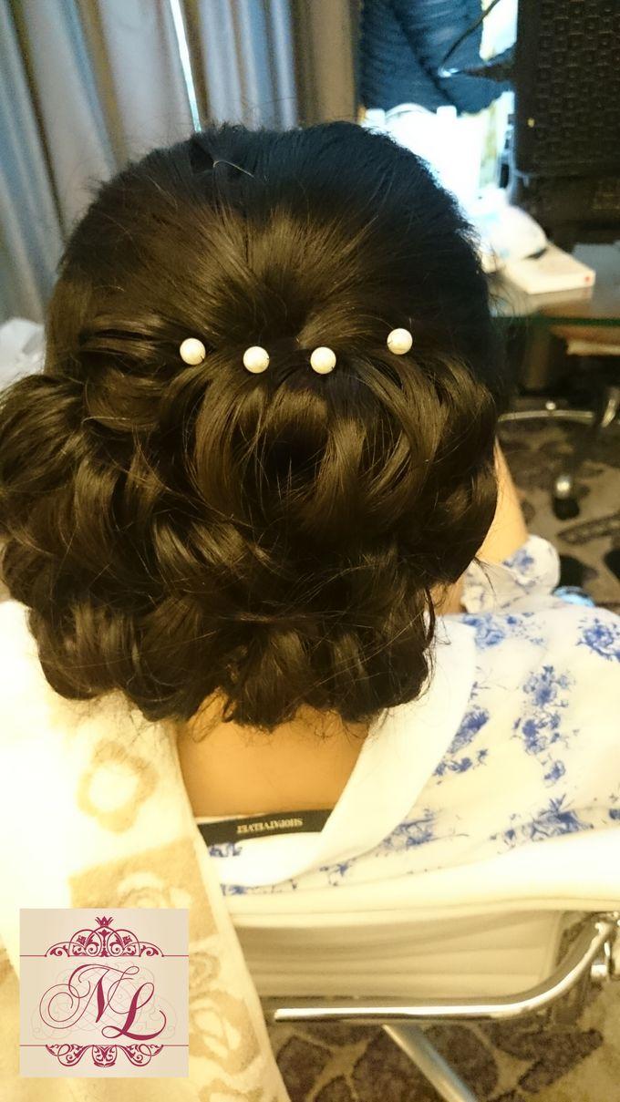 Hair do for Bridesmaid at Kempinski Hotel - Jakarta by Hotel Indonesia Kempinski Jakarta - 004