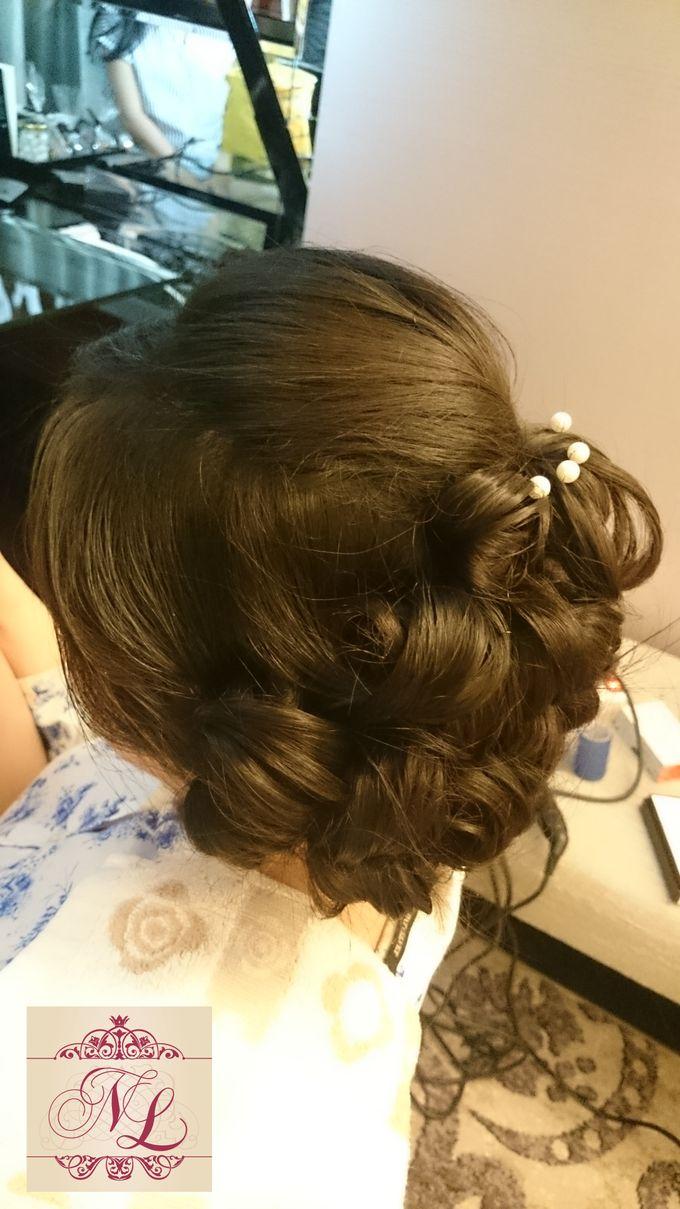 Hair do for Bridesmaid at Kempinski Hotel - Jakarta by Hotel Indonesia Kempinski Jakarta - 005