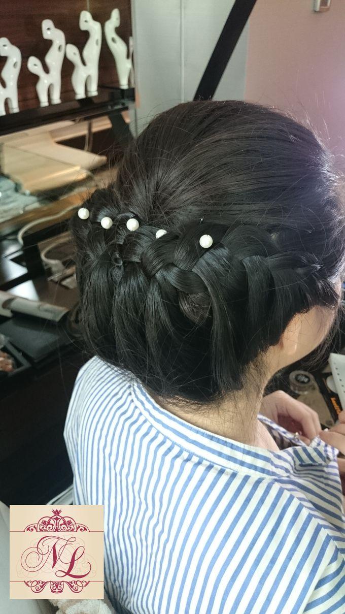 Hair do for Bridesmaid at Kempinski Hotel - Jakarta by Hotel Indonesia Kempinski Jakarta - 006