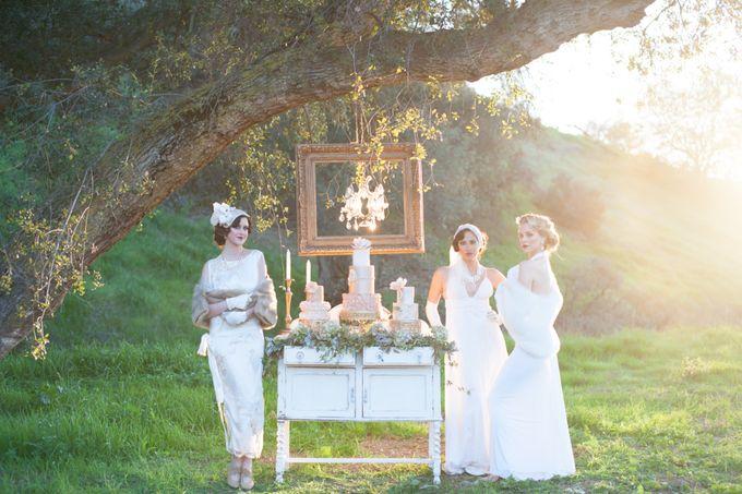 Great Gatsby Wedding Inspiration by Mark Martinez Photography - 006