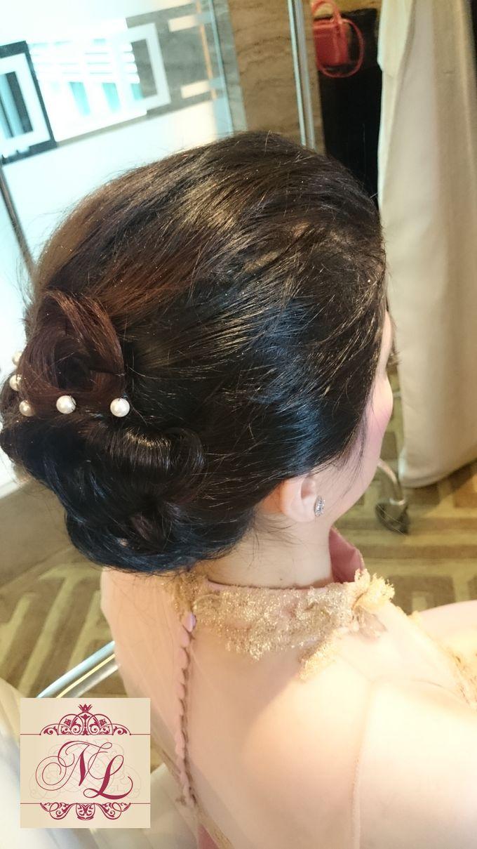Hair do for Bridesmaid at Kempinski Hotel - Jakarta by Hotel Indonesia Kempinski Jakarta - 009