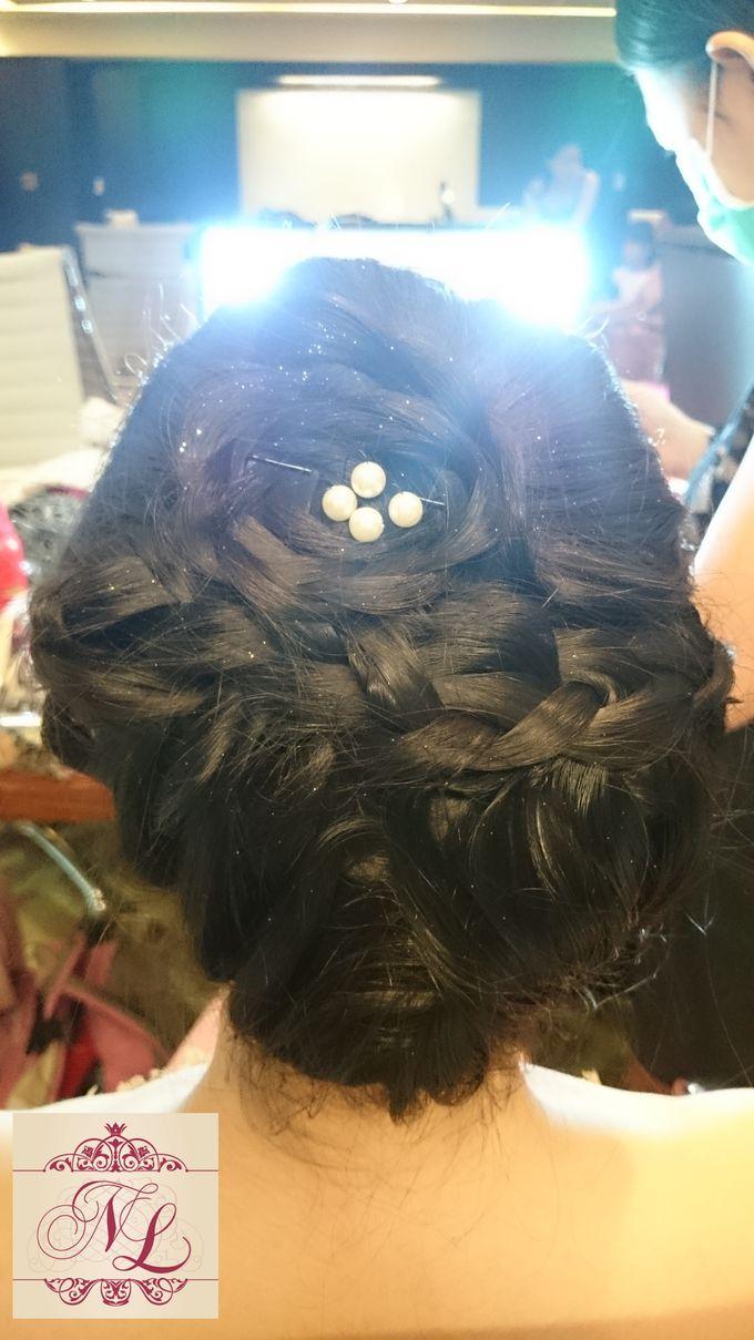 Hair do for Bridesmaid at Kempinski Hotel - Jakarta by Hotel Indonesia Kempinski Jakarta - 010