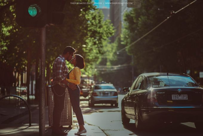 Neshia & Agra Melbourne Prewedding Day II by Thepotomoto Photography - 028