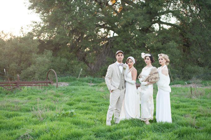 Great Gatsby Wedding Inspiration by Mark Martinez Photography - 007