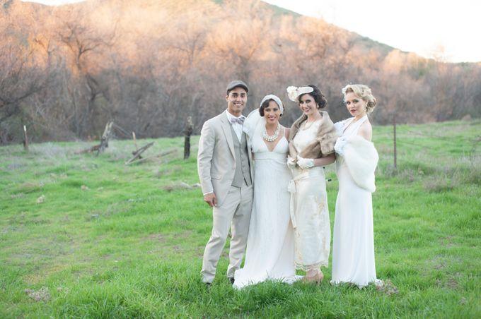 Great Gatsby Wedding Inspiration by Mark Martinez Photography - 008