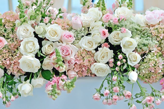 Elegant Wedding for Donna & Ricky by magical blossoms - 006