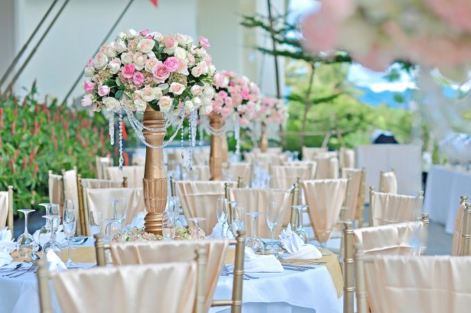 Elegant Wedding for Donna & Ricky by magical blossoms - 008