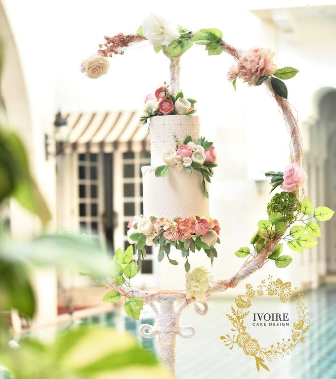 Intimate Wedding - Morocco House Jakarta by Ivoire Cake Design - 002