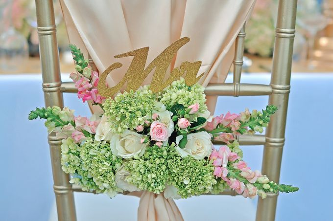 Elegant Wedding for Donna & Ricky by magical blossoms - 009