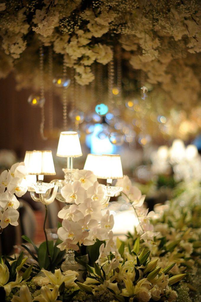 Elegant White and Gold by STEVE'S DECOR - 005