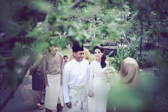 Munirah  & Amir - Wedding Reception by Raihan Talib Photography - 013