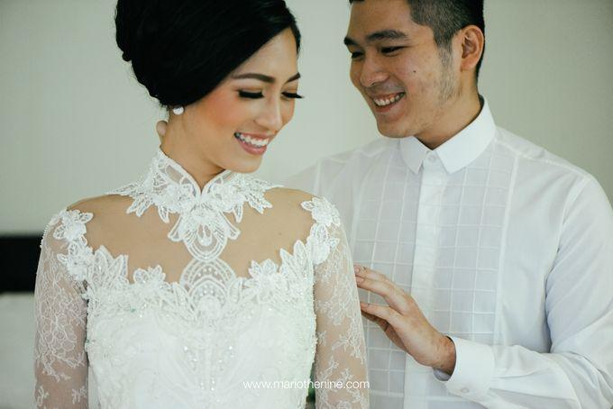 Suryo & Dina wedding day by Mario The Nine - 004