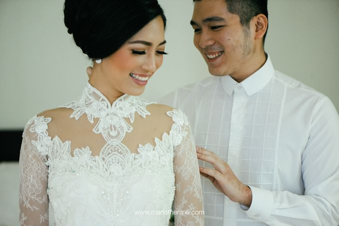 Suryo & Dina wedding day by Mimi kwok makeup artist - 001