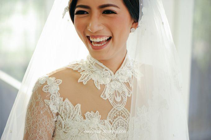 Suryo & Dina wedding day by Mimi kwok makeup artist - 004