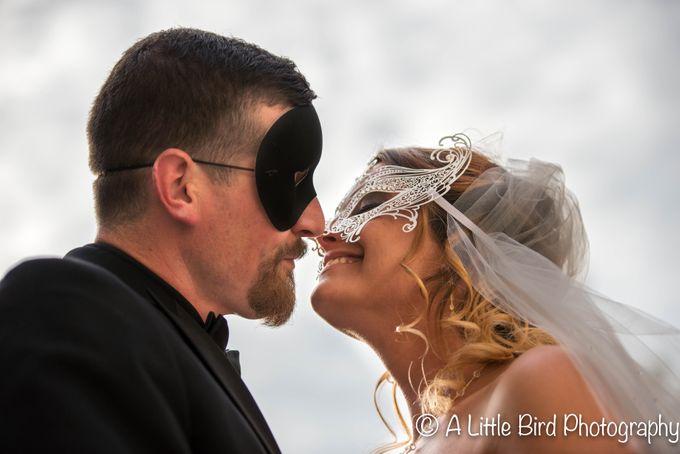 Halloween Wedding by A Little Bird Photography by Jamie Lynn - 028