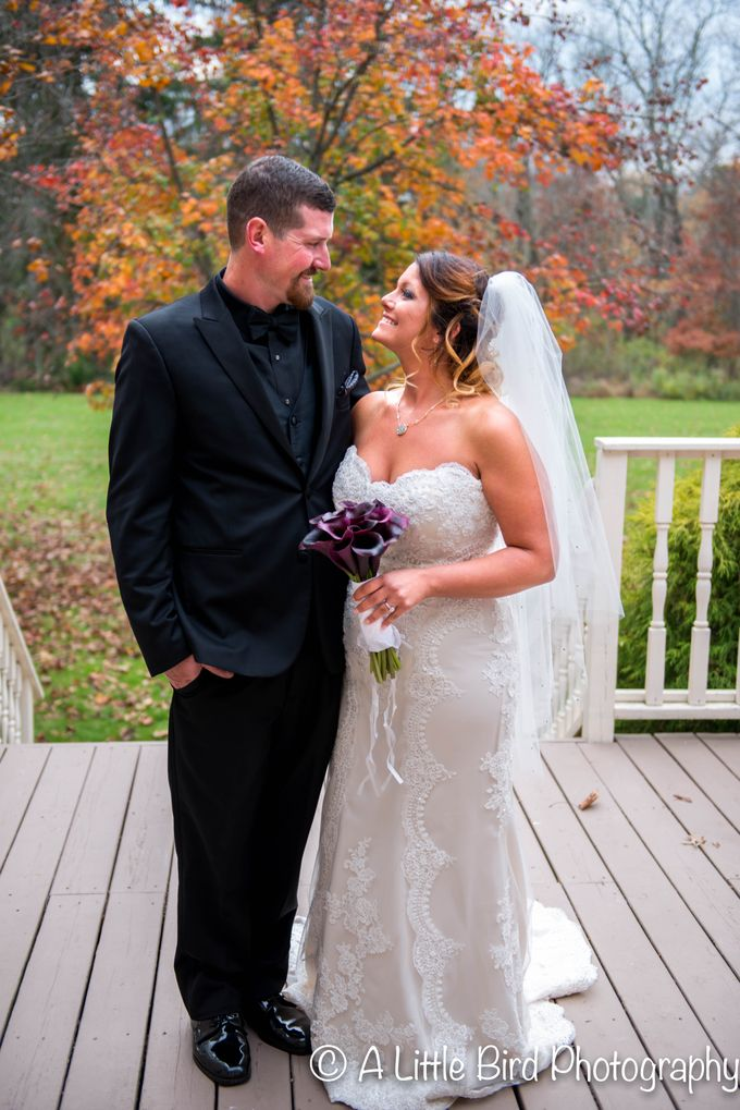 Halloween Wedding by A Little Bird Photography by Jamie Lynn - 031