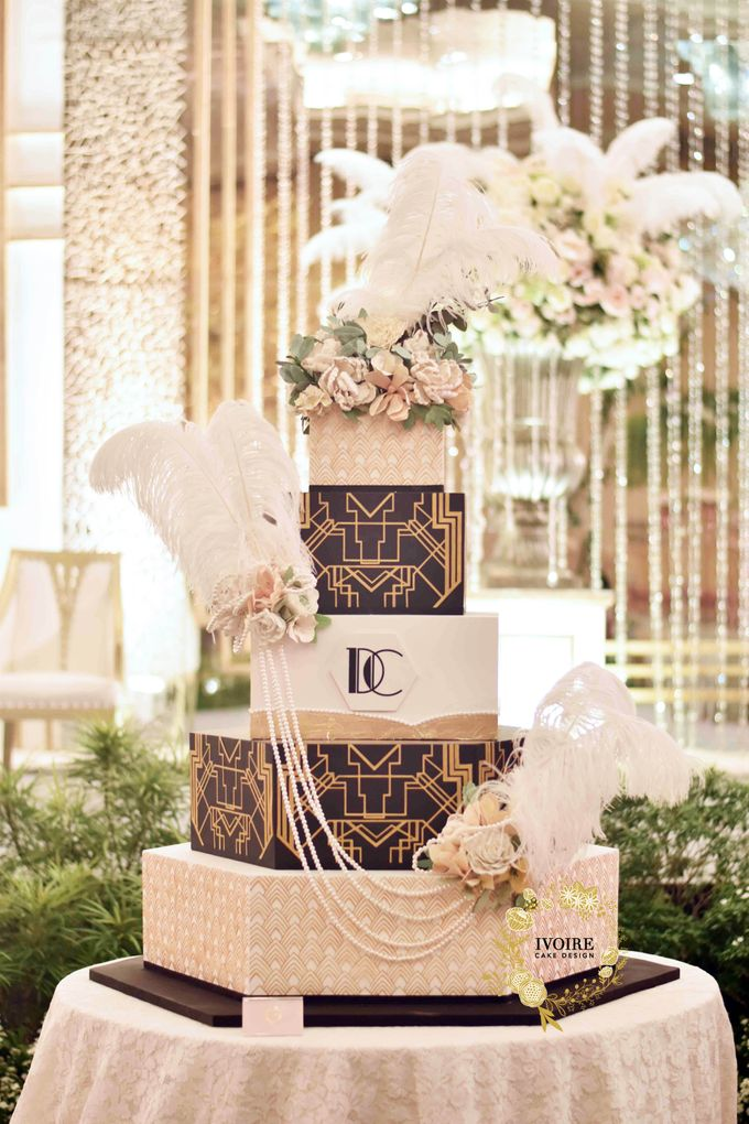 The Great Gatsby by Ivoire Cake Design - 001
