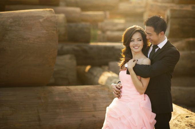 Prewed - Kevin & Lois by Makeup by Ie - 001