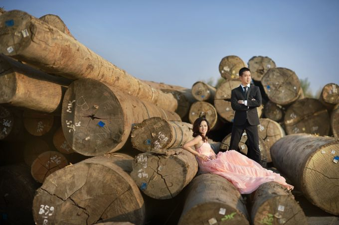 Prewed - Kevin & Lois by Makeup by Ie - 003