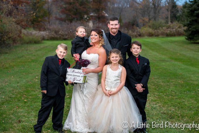 Halloween Wedding by A Little Bird Photography by Jamie Lynn - 038