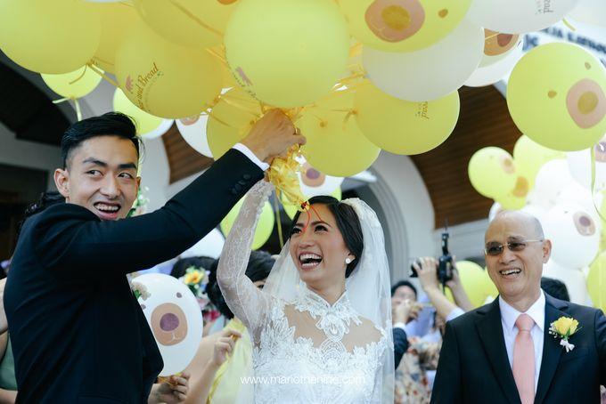 Suryo & Dina wedding day by Mimi kwok makeup artist - 007