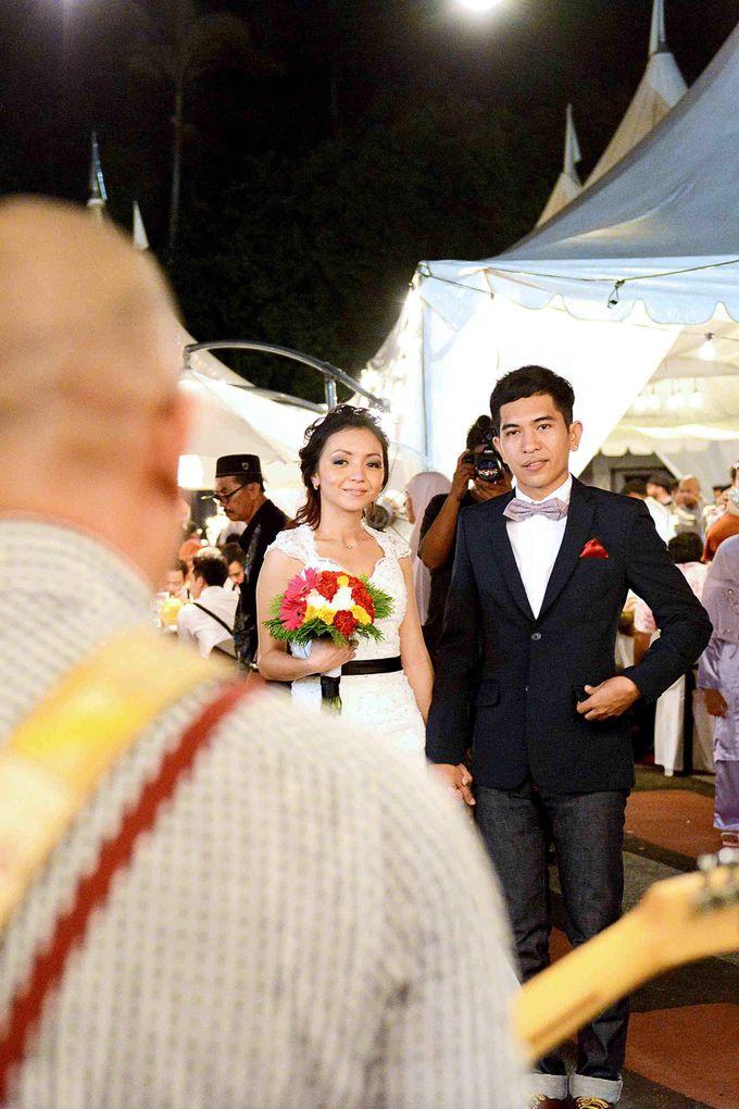 Farhana & Farhan - Garden Wedding by Raihan Talib Photography - 010