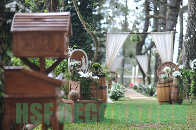 Rustic Theme Decoration by Home Smile Florist - 006