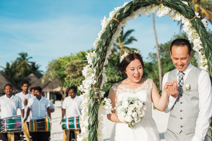 Grace & Geral Destination Wedding in Maldives by Asad's Photography - 013